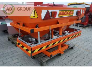 Spargisale grass-rol Salt and sand spreader 1000l/ Salzstreuer /Gritter