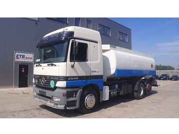 Mercedes-Benz Actros 2540 (BIG AXLE / 18100L / 3 COMPARTMENTS / 6X2) - autocarro cisterna