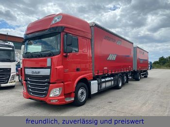 DAF * XF 440 * RATARDER * ACC  + KÖGEL ANHÄNGER *  - autocarro portacontainer/ caisse interchangeable