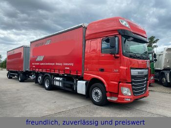 DAF * XF 440 * RATARDER * ACC * LIFTACHSE * TOP ZUST  - autocarro portacontainer/ caisse interchangeable