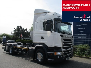 Autocarro portacontainer/ caisse interchangeable Scania R450 LB6X2 MNB - BDF 7,15 / 7,45 - SCR ONLY