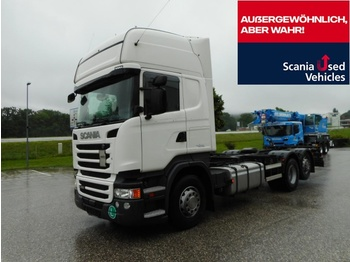 Scania Scania R450LB6X2MNB SCR only !!! - autocarro portacontainer/ caisse interchangeable