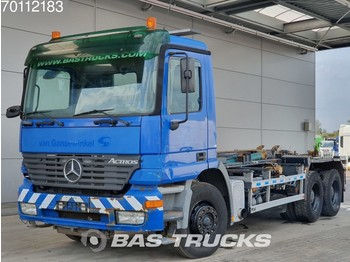 Mercedes-Benz Actros 2640 K 6X4 Hydraulik Steelsuspension Euro 3 - portacontainer/ caisse interchangeable autocarro
