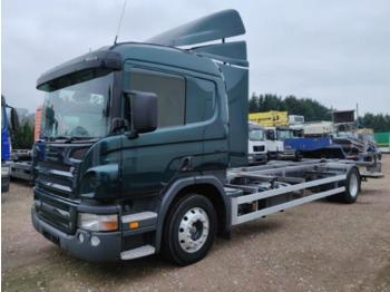 Scania P270 - portacontainer/ caisse interchangeable autocarro