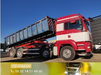 Scarrabile autocarro MAN TGA 37.440 8x4 Containerhaaksysteem / container euro4