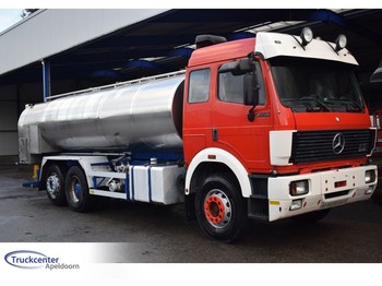 Autocarro cisterna Mercedes-Benz 2550 V8, Steel springs + Reduction axle, EPS, 13700 liter, Truckcenter Apeldoorn
