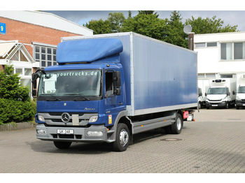 Autocarro furgonato Mercedes-Benz Atego 1218 E5 / Koffer 6,8m / LBW / Rolltor