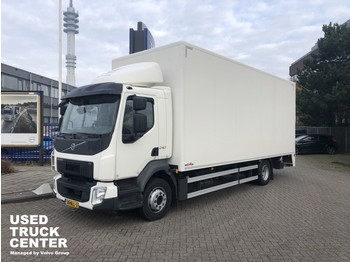 Autocarro furgonato Volvo FL 240 4x2 Rigid, closed box, full length tailgate LOW MILLEAGE