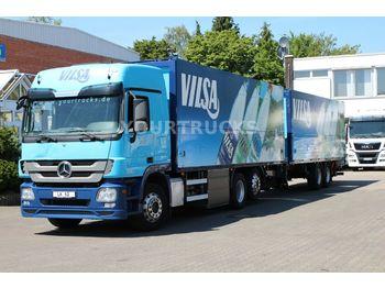 Autocarro trasporto di bevande Mercedes-Benz Actros 2541 Retarder/Schwenkwand/Lenkachse/ZUG!