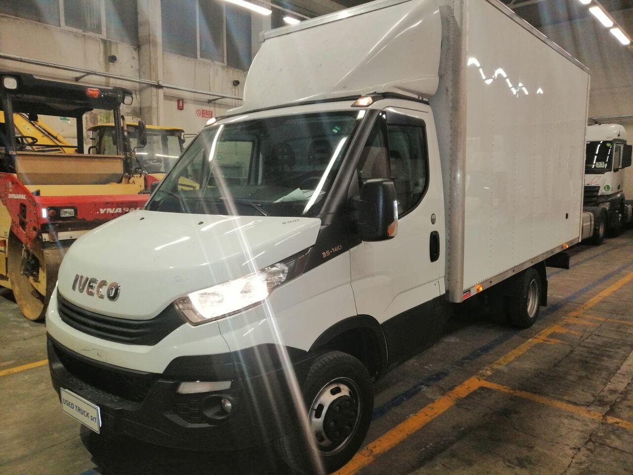 furgone box IVECO daily 35-140