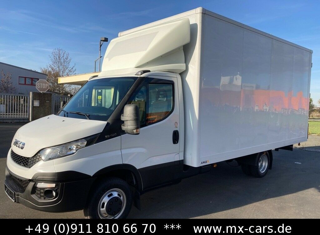 furgone box Iveco Daily 35c15 3.0L Möbel Koffer Maxi 4,73 m. 25 m³