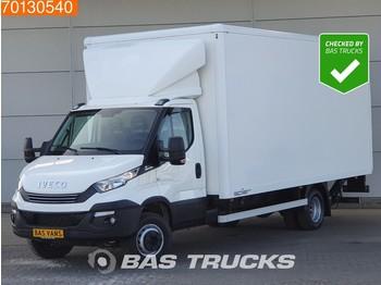 Furgone box Iveco Daily 70C21 210PK Automaat Euro6 Bakwagen Laadklep Koffer Luftfederung 31m3 A/C Cruise control