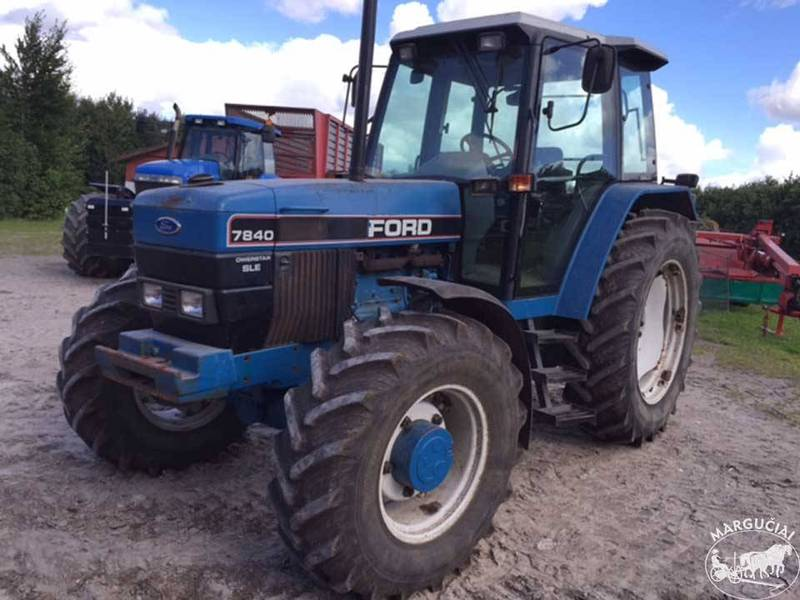 bcdd9b2afe Usato New Holland/Ford 7840 Traktorius 100AG trattore agricolo in ...