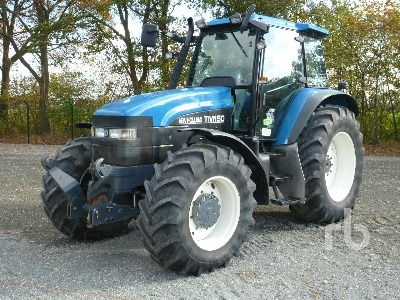 Usato New Holland TM150 4Wd Agricultural Tractor trattore