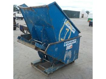 Conquip Tipping Skip to suit Forklift (2 of) - betoniera
