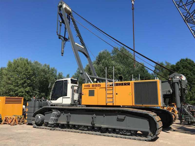 liebherr escavatore  Escavatore cingolato Liebherr HS 895 HD // Seilbagger // 47m ...