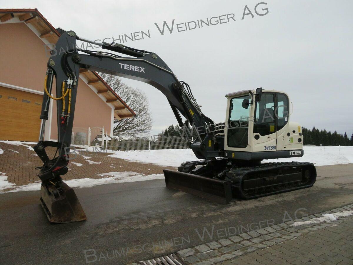 escavatore cingolato Terex TC 125
