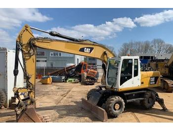Caterpillar M 318 D Mono boom (perfect condition)  - escavatore gommato
