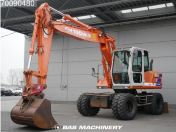 Hitachi FH 130 W.3 4X4 Original German machine - escavatore gommato