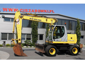 NEW HOLLAND WHEEL EXCAVATOR 18 T MH PLUS TRIPLE ARM - escavatore gommato