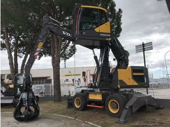 VOLVO EW160E  for rent - escavatore per movimentazione
