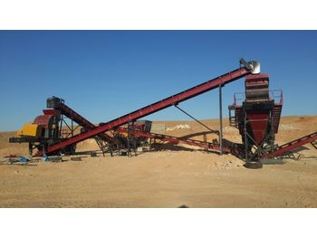 FABO STATIONARY TYPE 100-150 T/H CRUSHING & SCREENING PLANT - frantoi