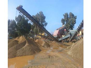 FABO STATIONARY TYPE 100-180 T/H CRUSHING & SCREENING PLANT - frantoi