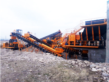 FABO STATIONARY TYPE 120-200 T/H CRUSHING & SCREENING PLANT - frantoi