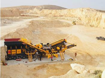 FABO PRO-150 MOBILE CRUSHING & SCREENING PLANT | BEST QUALITY - frantoio mobile
