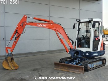 Miniescavatore Kubota KX101 Original hours from 1st owner