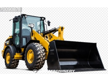 Caterpillar 908M 4X4 35KM/H - ride controle - bucket and forks - pala