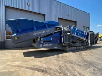 Kleemann Reiner MS15Z AD 1520 mm x 4880 mm 2 Deck Crawler Ho Screening Plant - vaglio