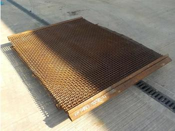Pallet of Screener Mesh - vaglio