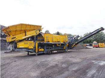 Vaglio PowerScreen H6203 3 deck screener