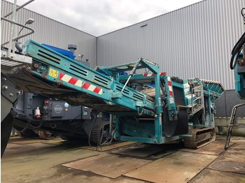 Powerscreen Warrior 1400 3 way split - vaglio