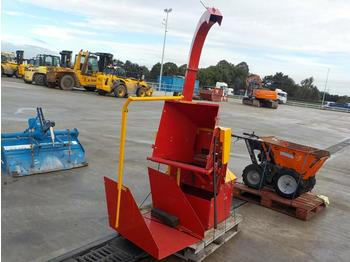 2015 PTO Driven Chipper to suit 3 Point Linkage - cippatrice