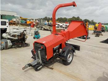 Single Axle Chipper, Lister Engine - cippatrice