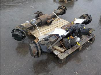 Front & Rear Axle to suit Maniotu 160ATJ - asse anteriore