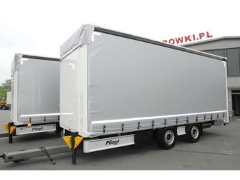 FLIEGL CURTAINSIDER TRAILER TPS 180 MEGA LOW DECK - rimorchio centinato