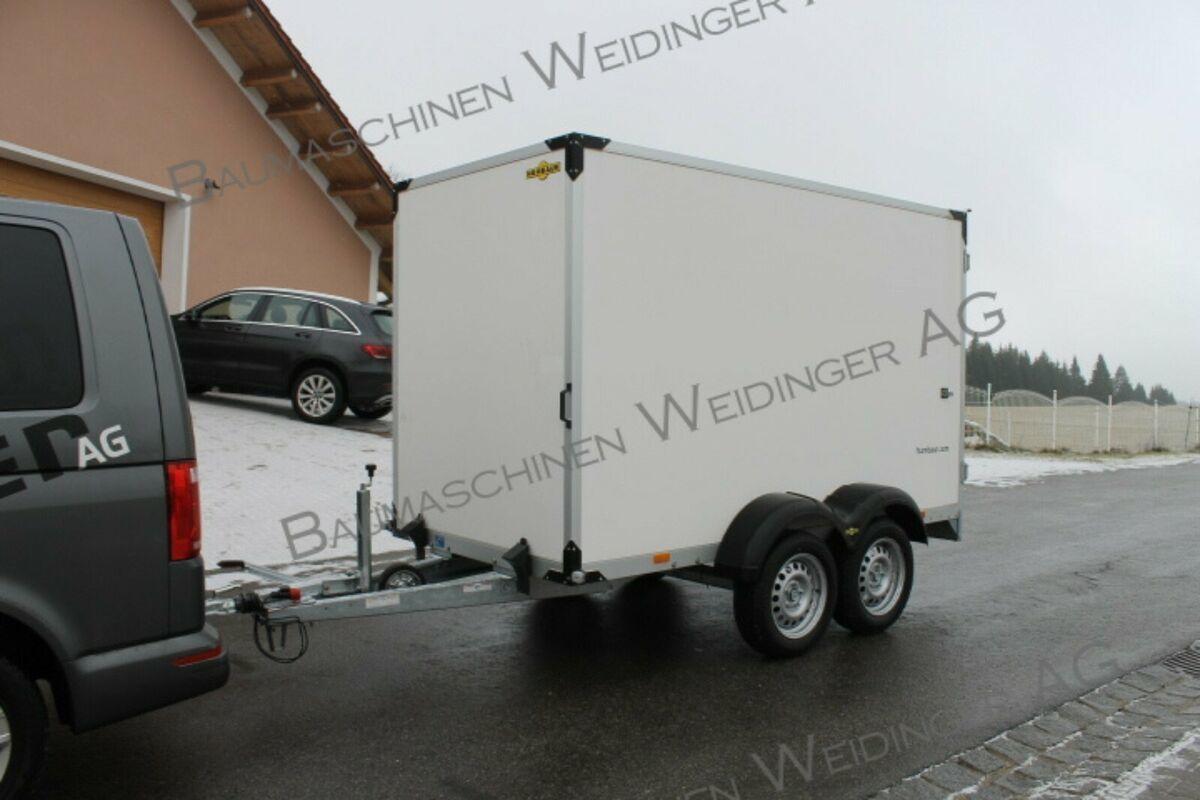 rimorchio furgonato Humbaur Tandem Kofferanhänger HK 203015 -18/20P