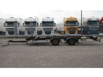 Rimorchio portacontainer/ caisse interchangeable DRACO 2 AXLE CONTAINER TRAILER