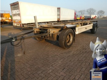 Fliegl ZWP180 - rimorchio portacontainer/ caisse interchangeable