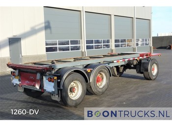 Rimorchio portacontainer/ caisse interchangeable WUEST WU 10-18 CKA | 20FT CONTAINERCHASSIS