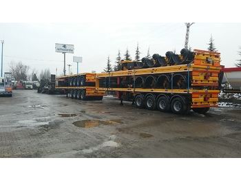 Semirimorchio portacontainer/ caisse interchangeable ALTINORDU 3 and 4 axle FLAT BED SEMI TRAILER