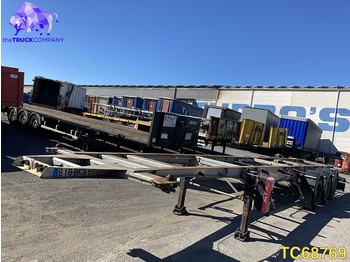 Semirimorchio portacontainer/ caisse interchangeable General Trailer Container Transport