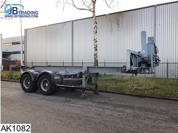 Semirimorchio portacontainer/ caisse interchangeable Kaiser Chassis Tipper Container chassis, 20 FT, Steel suspension,