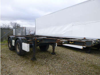 Semirimorchio portacontainer/ caisse interchangeable Krone Chassis 20ft