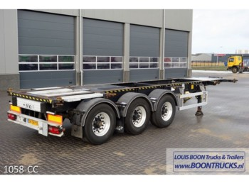 LAG O-3-39-05 20-30ft ADR BPW DISC - semirimorchio portacontainer/ caisse interchangeable