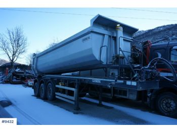 Carnehl 3 axle tipper semi trailer . 7 mm. - semirimorchio ribaltabile