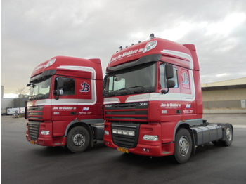 DAF XF 460 SUPERSPACE 2X - trattore stradale